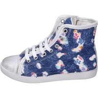 Sapatos Rapariga Sapatilhas de cano-alto Happiness BH132 Azul