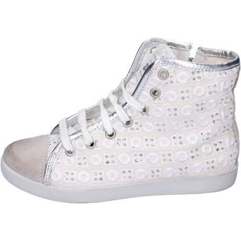 Sapatos Rapariga Sapatilhas de cano-alto Happiness BH133 Branco