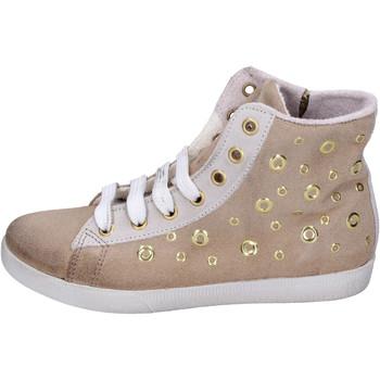 Sapatos Rapariga Sapatilhas de cano-alto Happiness BH134 Bege