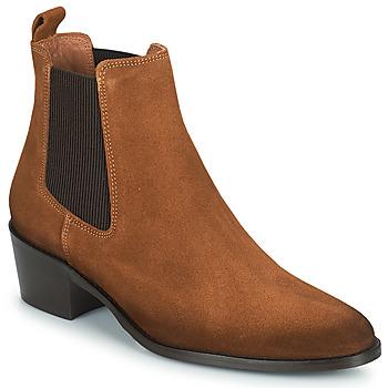 Sapatos Mulher Botas baixas Fericelli PAMINA Castanho