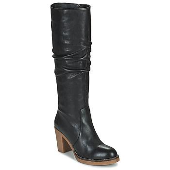 Sapatos Mulher Botas Fericelli PISTIL Preto