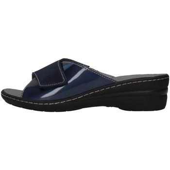 Sapatos Mulher Chinelos Melluso K95716A Azul