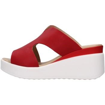 Sapatos Mulher Chinelos Melluso 019149 Vermelho