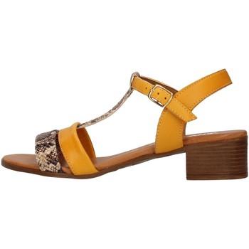 Sapatos Mulher Sandálias Melluso 018826 Amarelo