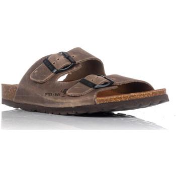 Sapatos Mulher Chinelos Interbios 7206 Bege