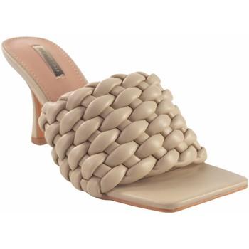 Sapatos Mulher chinelos Bienve Senhora da cerimônia  1bs-1170 bege Castanho