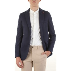 Textil Homem Casacos/Blazers Mulish FREGENE-GKS1900 Azul