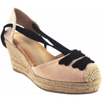 Sapatos Mulher Alpargatas Bienve Sapato de senhora  1gk-1081 bege Castanho