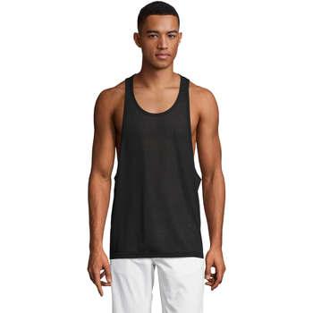 Textil Homem Tops sem mangas Sols Jamaica camiseta sin mangas Negro