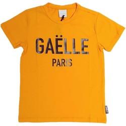 Textil Rapaz T-Shirt mangas curtas GaËlle Paris - T-shirt arancione 2736M0070 ARANCIONE