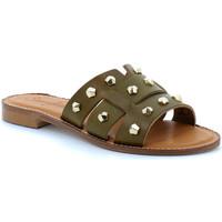 Sapatos Mulher Chinelos Semerdjian  Kaki