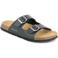 Sapatos Homem Chinelos Grunland CB3013 Preto