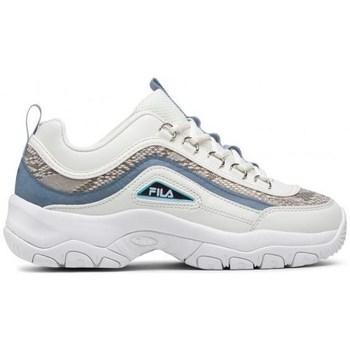 Sapatos Mulher Sapatilhas Fila Strada A Wmn Branco, Dourado