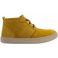 Sapatos Homem Botas baixas Natural World Botas Alpe 6762 Golden Amarelo