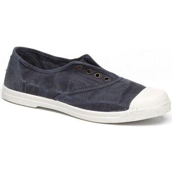 Sapatos Homem Sapatilhas de ténis Natural World Sapato 102E Marino Enz Azul