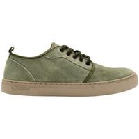 Sapatos Homem Sapatilhas Natural World Sapatos Miso 6761 Kaki Verde