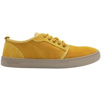 Sapatos Homem Sapatilhas Natural World Sapatos Miso 6761 Curry Amarelo