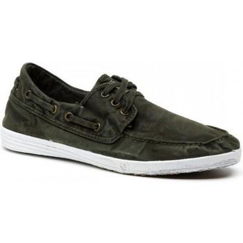 Sapatos Homem Sapato de vela Natural World Sapatos 303E Kaki Verde