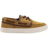 Sapatos Homem Sapato de vela Natural World Sapatos Toba 6767 Golden Amarelo