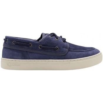 Sapatos Homem Sapato de vela Natural World Sapatos Toba 6767 Marino Azul