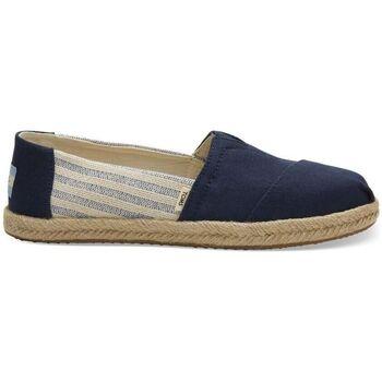 Sapatos Homem Alpargatas Toms Alpargatas Classic Navy Ivy League Stripes Azul