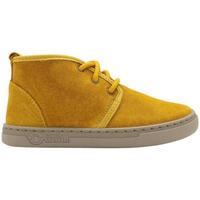 Sapatos Criança Sapatilhas Natural World Botas Junior Tiago 6951 Curry Amarelo