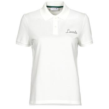 Textil Mulher Polos mangas curta Lacoste PF7251 Branco