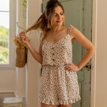 Textil Mulher Macacões/ Jardineiras Céleste NEROLI Cru