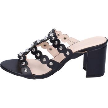 Sapatos Mulher Chinelos Silvian Heach BH155 Preto
