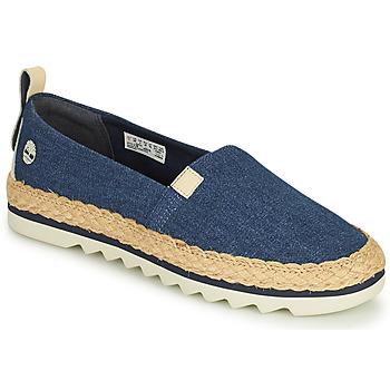Sapatos Mulher Alpargatas Timberland Barcelona Bay Classic Textile Azul