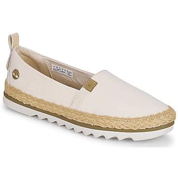 Sapatos Mulher Alpargatas Timberland Barcelona Bay EK+ Classic Textile Bege