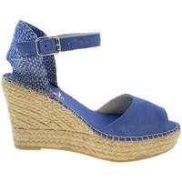 Sapatos Mulher Sandálias Vidorreta Cuña  15100 Azul Azul