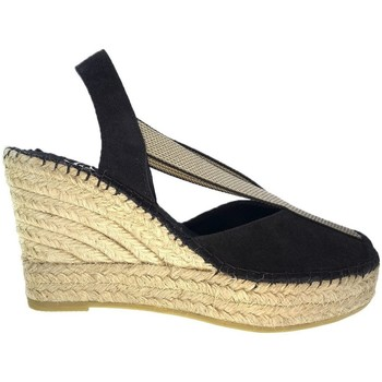 Sapatos Mulher Alpargatas Vidorreta Cuña  13900 Negro Preto