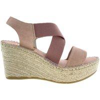 Sapatos Mulher Sandálias Vidorreta Cuña  36400 Ante Nude Rosa