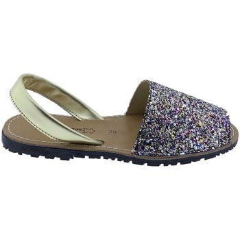 Sapatos Mulher Sandálias Huran Sandalias Menorquinas Multi Multicolor