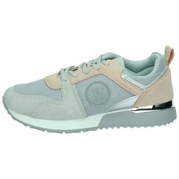 Sapatos Mulher Sapatilhas Demax  Cinza