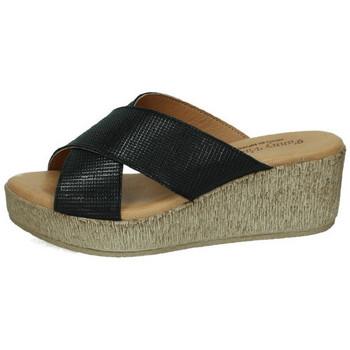 Sapatos Mulher Chinelos Fanny Valero  Preto