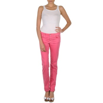 Textil Mulher Calças Gant DANA SPRAY COLORED DENIM PANTS Rosa
