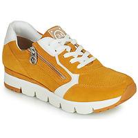 Sapatos Mulher Sapatilhas Marco Tozzi NERIANA Amarelo