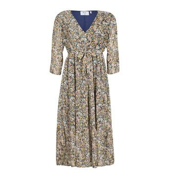 Textil Mulher Vestidos compridos Betty London  Multicolor