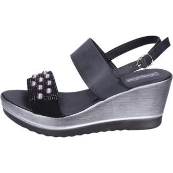 Sapatos Mulher Sandálias Fascino Donna Sandálias BH167 Preto