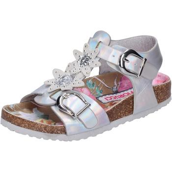 Sapatos Rapariga Sandálias Fiorucci BH174 Prata