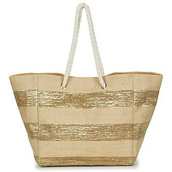 Malas Mulher Cabas / Sac shopping Betty London  Bege / Dourado