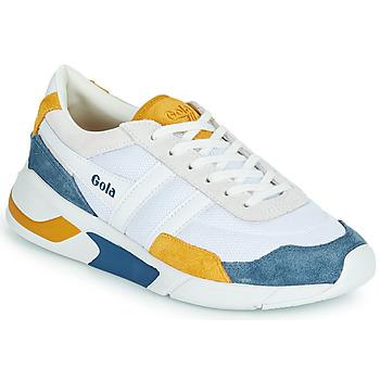 Sapatos Mulher Sapatilhas Gola GOLA ECLIPSE Branco / Azul / Amarelo