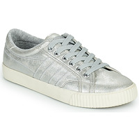 Sapatos Mulher Sapatilhas Gola GOLA TENNIS MARK COX SHIMMER Prata