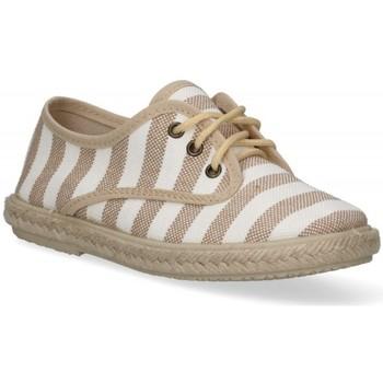 Sapatos Rapaz Alpargatas Luna Collection 55921 castanho