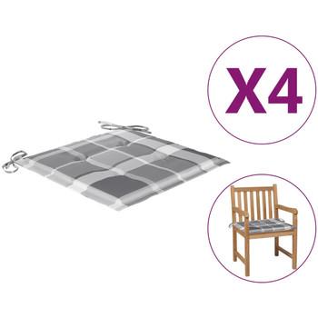 Casa Almofada de cadeira VidaXL Almofadão para cadeira de jardim 50 x 50 x 4 cm Multicolor