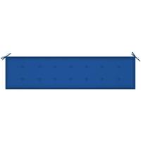 Casa Almofada de cadeira VidaXL Almofadão de banco 200 x 50 x 4 cm Azul