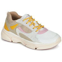 Sapatos Rapariga Sapatilhas Geox J LUNARE GIRL Bege