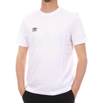 Textil Homem T-Shirt mangas curtas Umbro  Branco